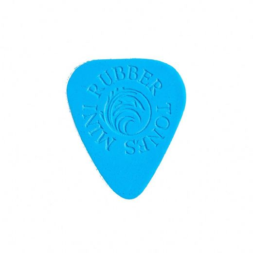Rubber Tones Mini Blue Silicon 1 Guitar Pick